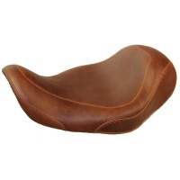 SEAT WIDE TRIPPER SOLO SMOOTH STITCHED BROWN 11,5""