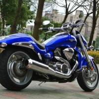 RevoCycles Monster 2-1, Chrome (Suzuki M109R '06 | M1800R '06)