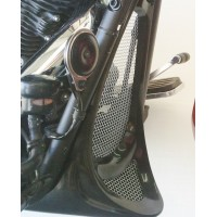 Honey Comb Screens for Chin Fairing (Yamaha XVS950 Midnightstar / V-Star 950)