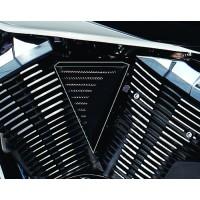 V-Groove Black Coil Cover (Yamaha XVS950 Midnightstar/V-Star 950)
