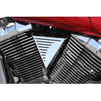 V-Groove Polished Coil Cover (Yamaha XVS950 Midnightstar/V-Star 950)