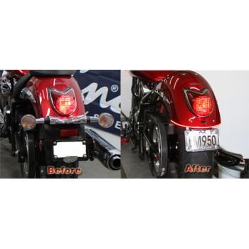 LED Brake Light & License Plate Kit (Yamaha XVS950 Midnightstar / V-Star 950)
