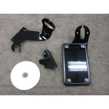 Vertical License/Tail Light Brackets (Honda Ace 750)