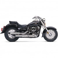 Cobra Slip-on Slash-Cut (Yamaha XVS650 Dragstar 1998-2005 / V-Star 650 1998-2005)