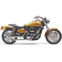 "Cobra ""Drag Pipes"" (Kawasaki Meanstreak 1600 / VN1500/E/N/P / Vulcan/Classic/FI '96-'08)"