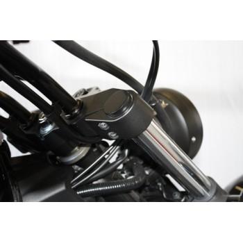 Flat Top Fork Caps (Yamaha XVS1300 Custom Stryker)