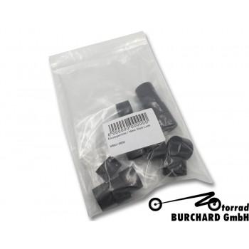 "Spare rubbers 1 (set) for Motorrad Burchard Fußrastenanlagen design  ""Ness Style Look"""