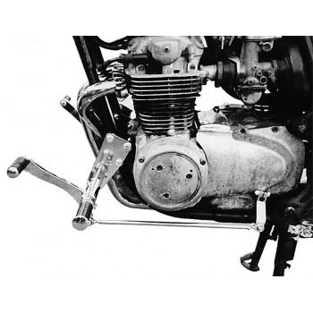 Forward Controls Kit 35 cm forward for Honda CB 500 Four - Honda CB 550 Four TÜV - Chrome - Sundance Look Smooth Levers