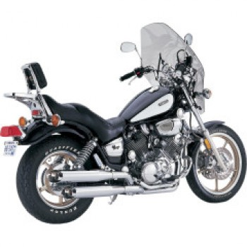 "V&H ""Classic II Cruiser"" Exhaust system (Yamaha XV700/750/1100 Virago '84-'99)"