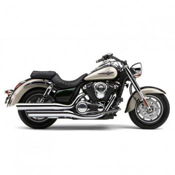 Cobra Slip-on Scalloped tip Mufflers (Kawasaki 1700 Vulcan Classic '09-'13)