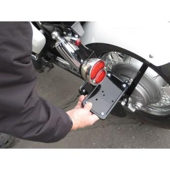 License (Horizontal) / Tail Light Brackets (Honda Shadow Aero / Phantom)