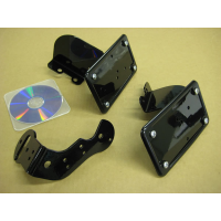 License (Horizontal) / Tail Light Brackets (Honda Shadow Aero / Phantom)