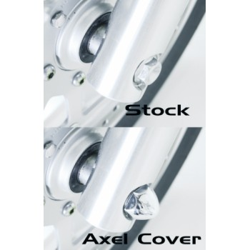 Chrome Axle Covers  (Honda Fury)