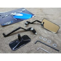 Low Profile Bobber Mirrors (Suzuki Savage S40)