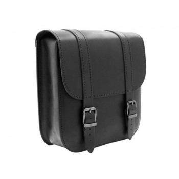 Ledrie Swingarm Bag Black 7,5L Softail