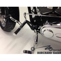 Forward Controls Kit 12-17 cm Harley Davidson Softail Fatboy, Breakout ABE