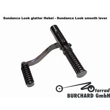 Sundance Look Smooth Lever Forward controls 12 cm SHORT Black (M109|M1800R)