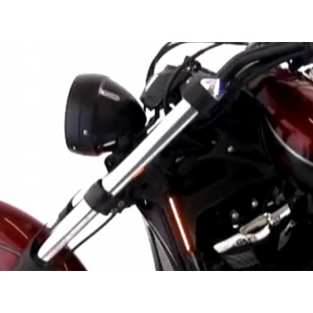 Spike Top Fork Caps (Yamaha XVS Custom Stryker)
