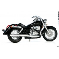Roadhouse CLASSIC 2-1 HONDA 750 SHADOW 2002-2007, KROM