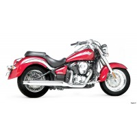 Roadhouse CLASSIC 2-1 KAWASAKI VN900 (06-09), CHROME