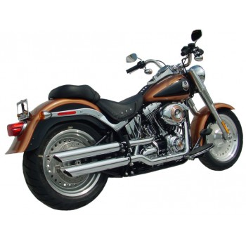 "Rush Performance LJUDDÄMPARE, SOFTAIL 2007-2017, KROM, SLASH DOWN, 1,50"" BAFFLE"