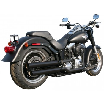 "Rush Performance LJUDDÄMPARE, SOFTAIL 2007-2017, SVART, STRAIGHT CUT, 2,00"" BAFFLE"