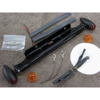 Black Front Light Kit (Suzuki Volusia C50 800)