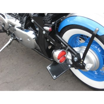 BCB License (Horizontal) / Tail Light Brackets (Suzuki Boulevard M50 800)