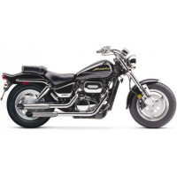 Cobra Slip-On Mufflers. Slash-Cut (Suzuki VZ800 Marauder 99-04)