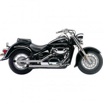 "Cobra 2"" Drag Pipes (Suzuki VL800 Volusia 01-04 / VZ800M Intruder 05-09 / VL800 C Intruder 05-14 / M50 Boulevard 05-09 / C50 Boulevard 05-14)"
