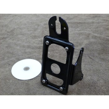 BCB Vertical License Bracket (Yamaha XVS1100 Dragstar/V-Star 1100)